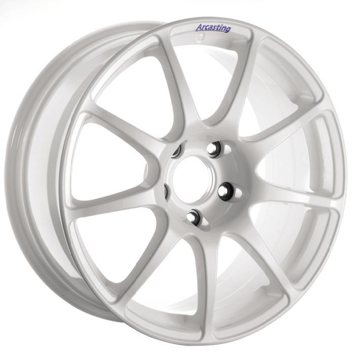 ARCASTING EXCALIBUR RALLY 8x18 5x120 ET36 white (BMW Serie 3)
