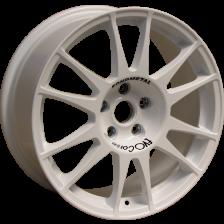 EVO CORSE SANREMO 8x18 5x100 ET35 White (AUDI A3 (8L), SEAT)