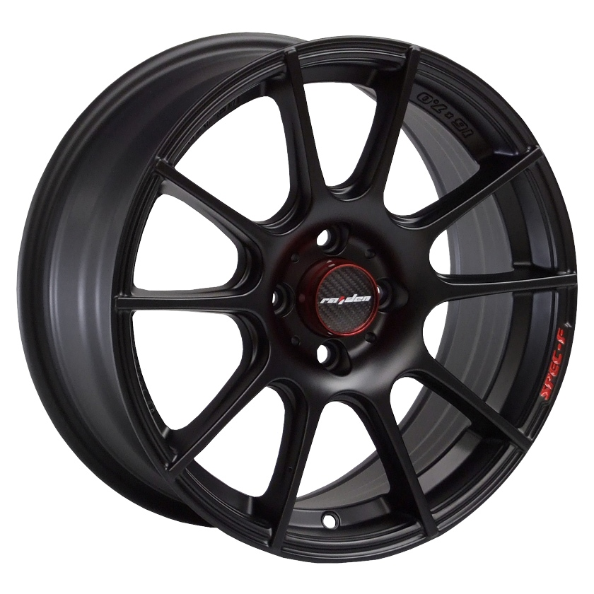 LENSO SPEC F 7x16 4x108 ET38 MATT BLACK