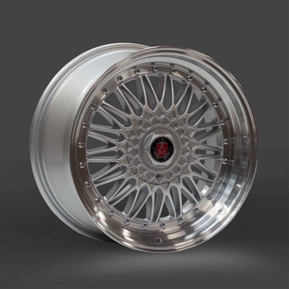 AXE RS 8,5x17 5x100 ET25 SILVER/MIRROR LIP