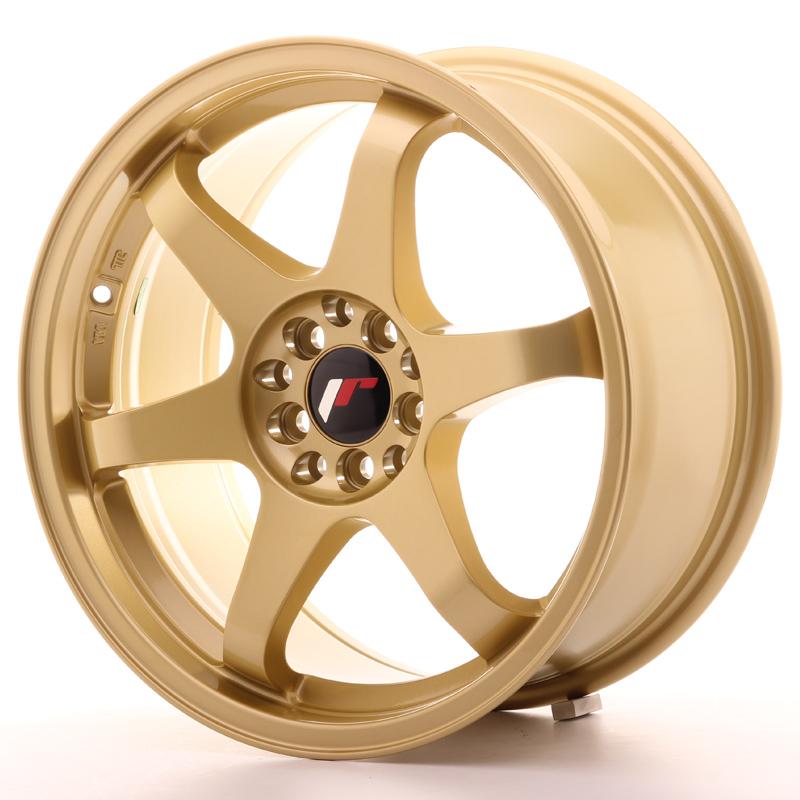 JR3 8x17 5x100/114,3 ET35 GOLD (Hmotnost: 8,8kg)
