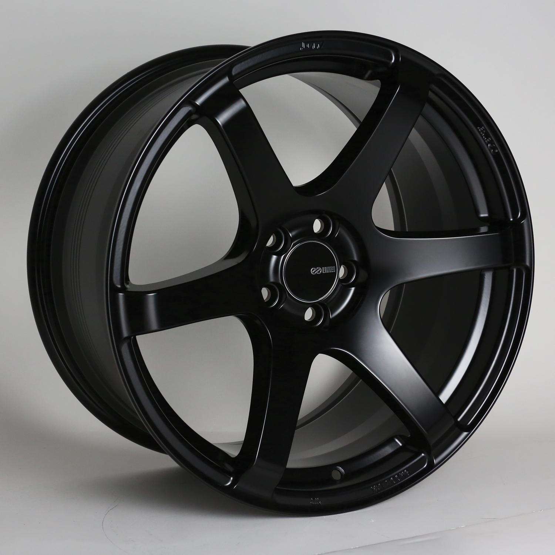 ENKEI T6S 8x17 5x100 ET45 MATT BLACK