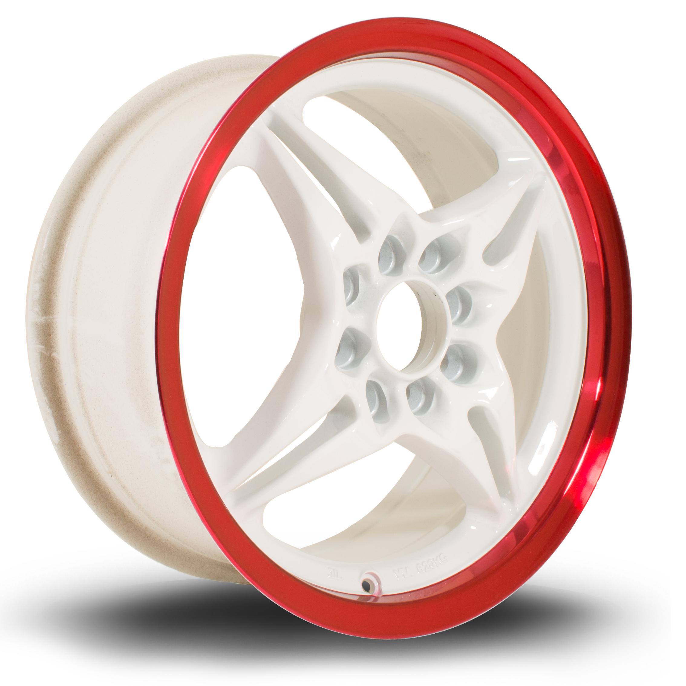 ROTA AUTOX 6,5x15 4x100/114,3 ET40 WHITE RED LIP