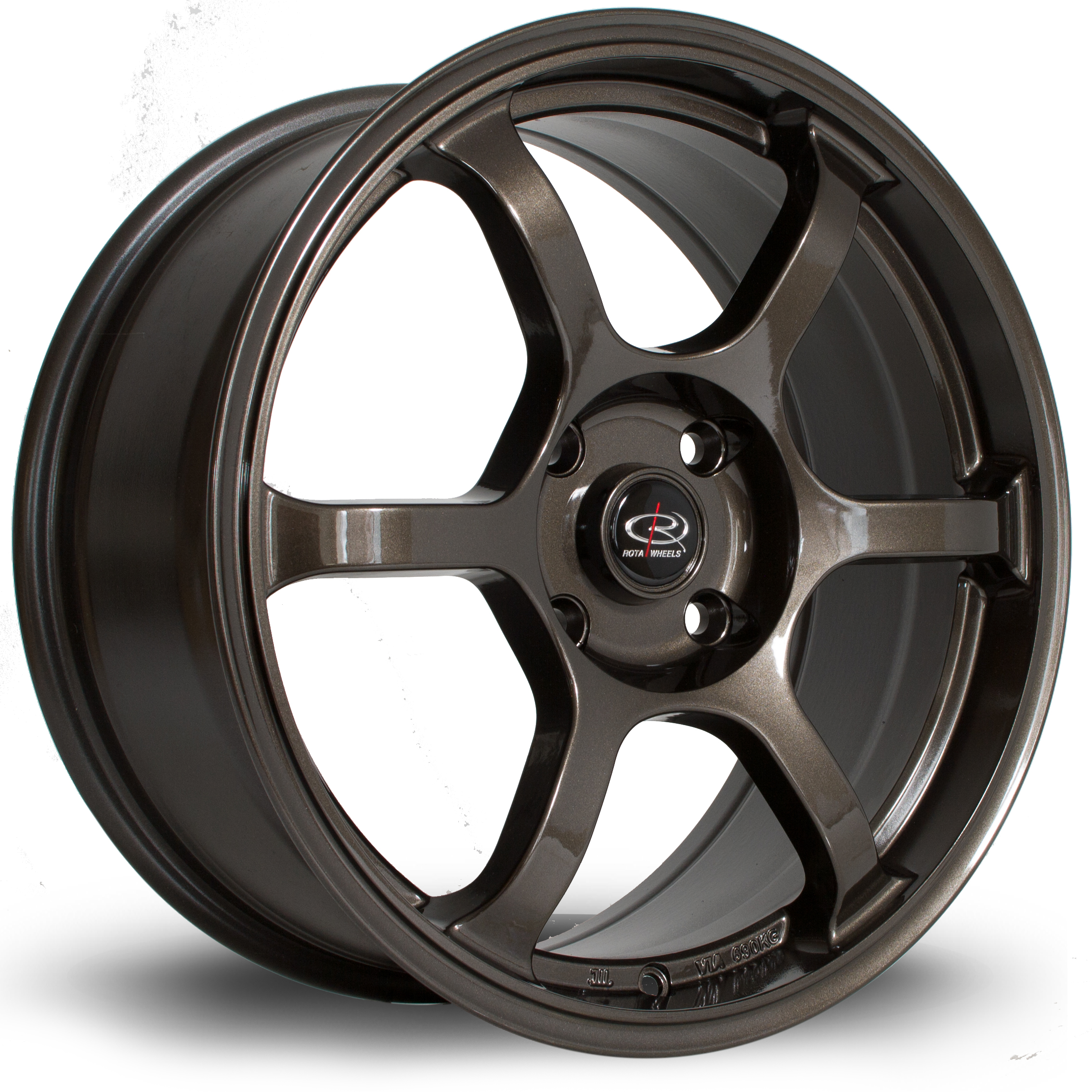 ROTA BOOST 7,5x17 4x114,3 ET48 GOLD