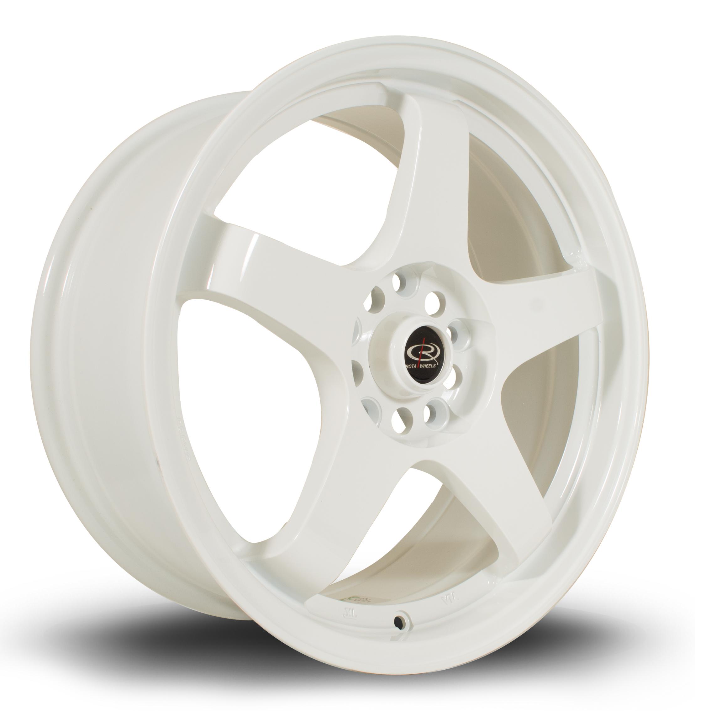ROTA GTR 7,5x17 4x108 ET45 WHITE