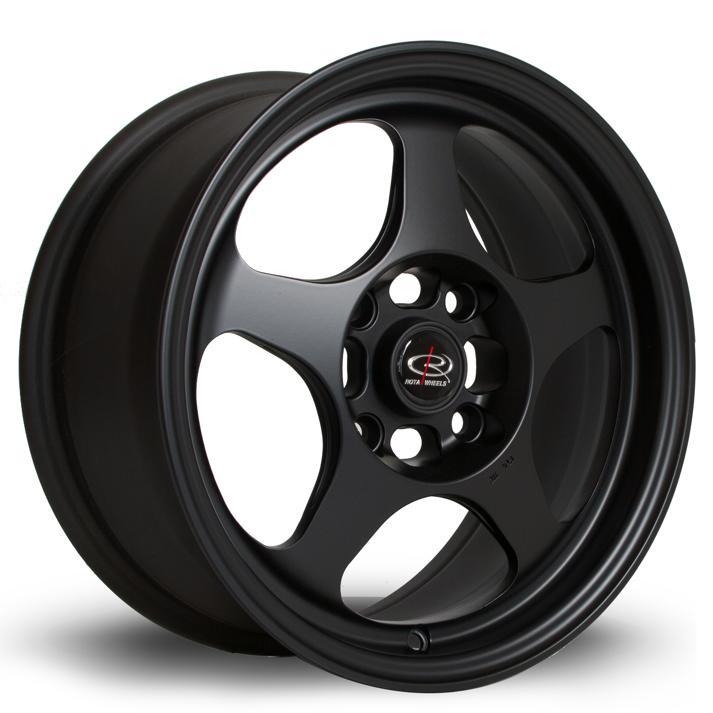 ROTA SLIPSTREAM 7x15 4x108 ET40 FLAT BLACK