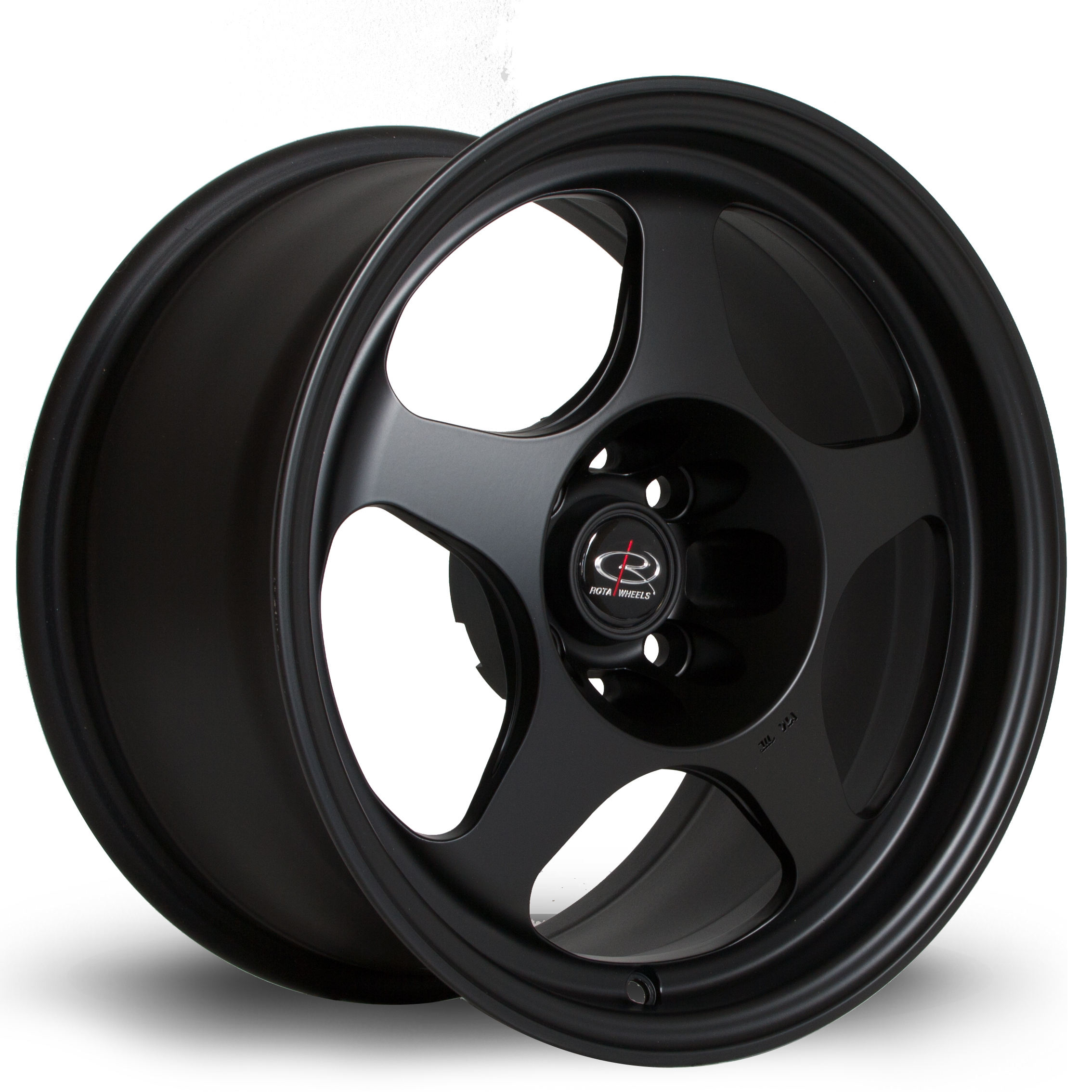 ROTA SLIPSTREAM 8x15 4x108 ET25 FLAT BLACK