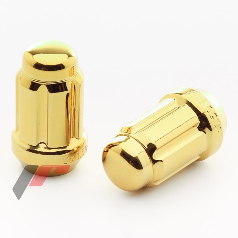 JR Kované ocelové matice JN2 M12x1,5 krátké GOLD 20ks + nástavec