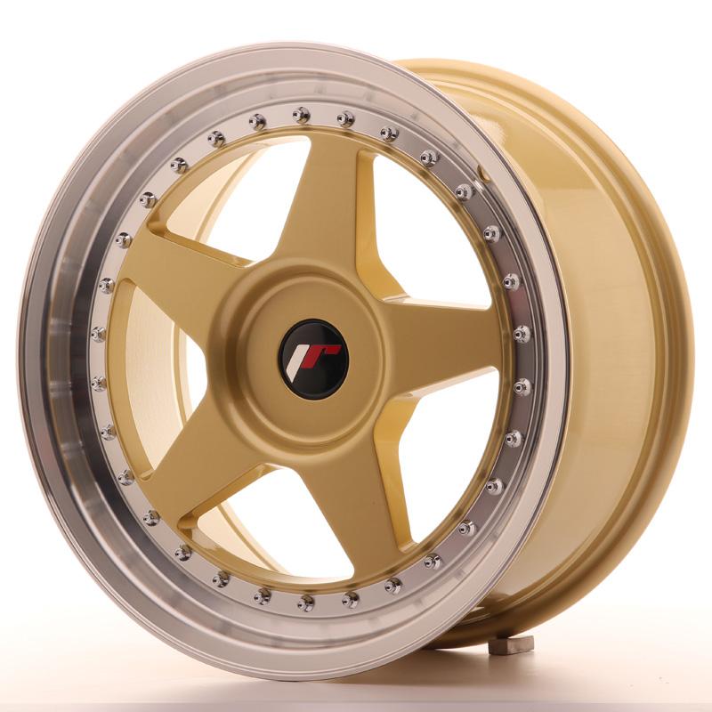 JR6 8x17 5x100 ET20-35 GOLD