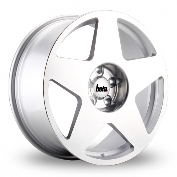 BOLA B10 7,5x17 5x114,3 ET40-45 SILVER POLISHED FACE