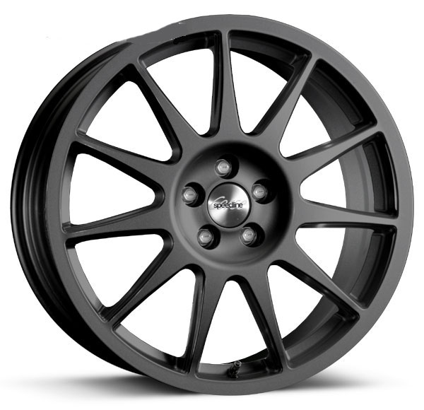 SPEEDLINE CORSE TURINI KIT Type 2120 8x18 MATT BLACK