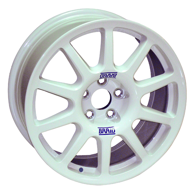 BRAID FULLRACE A 7x16 4x108 ET0/40 WHITE (ET0 až ET40)