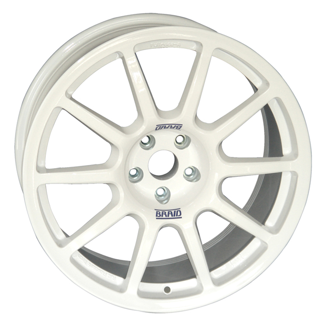 BRAID FULLRACE A 8x18 5x112 ET-30/70 WHITE (ET-30 až ET70)