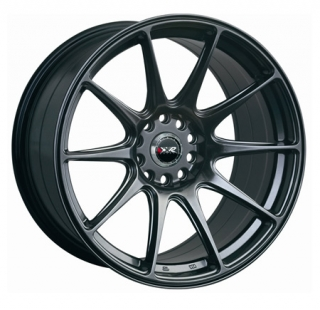 XXR 527 9,75x18 5x120/114,3 ET20 CHROME BLACK