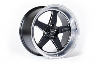 COSMIS RACING XT-005R 9x18 5x114,3 ET25 BLACK MACHINED LIP
