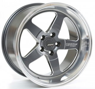 COSMIS RACING XT-005R 9x18 5x120 ET25 GUNMETAL MACHINED LIP