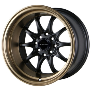 ULTRALITE UL48 9x15 4x100/108 ET0 BLACK