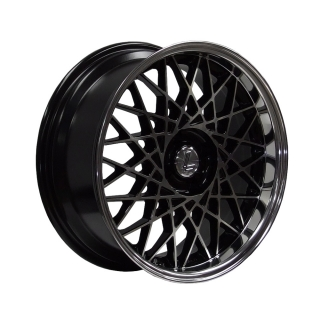 LENSO EAGLE-2 8,5x17 5x120 ET25 BLACK MACHINED FACE/POL DISH