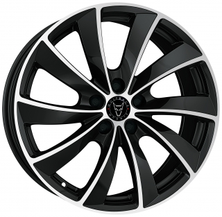 WOLFRACE GB LUGANO 7,5x17 5x120 ET36 BLACK POLISHED