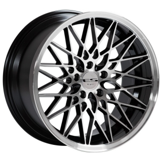LENSO ESG 9,5x18 5x110 ET40 BLACK / POLISHED
