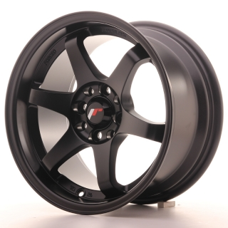 JR3 8x15 4x100/114,3 ET25 MATT BLACK