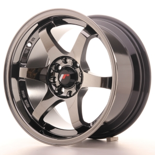 JR3 8x15 4x100/108 ET25 BLACK CHROME