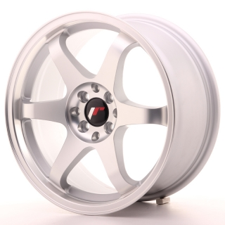 JR3 8x17 5x100/114,3 ET35 MATT SILVER MACHINED