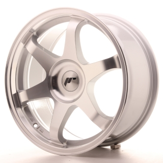 JR3 8x17 5x100 ET35 SILVER MACHINED