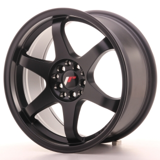 JR3 8x17 5x108/112 ET35 MATT BLACK