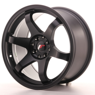JR3 9x17 5x100/114,3 ET35 MATT BLACK
