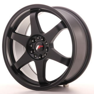 JR3 8x18 5x100/120 ET35 MATT BLACK