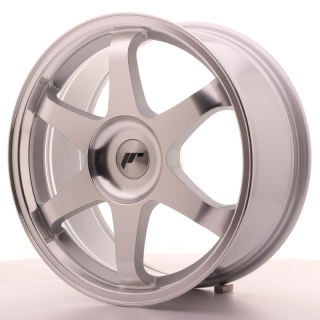 JR3 8x18 5x100 ET35-40 SILVER MACHINED