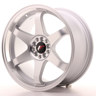 JR3 9x18 5x100/108 ET40 MATT SILVER MACHINED