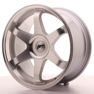 JR3 9x18 5x100 ET35-40 SILVER MACHINED