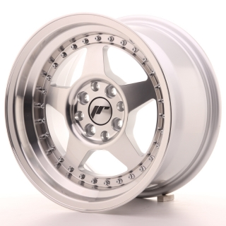 JR6 8x15 4x100/114,3 ET15 SILVER MACHINED