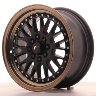JR10 7x15 4x100/108 ET30 MATT BLACK BRONZE LIP