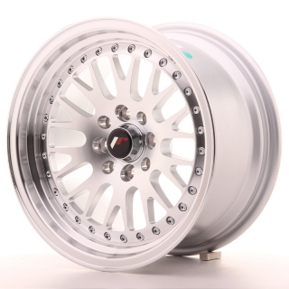 JR10 8x15 4x100/108 ET20 SILVER MACHINED