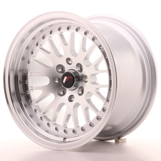 JR10 9x15 4x100/108 ET20 SILVER MACHINED