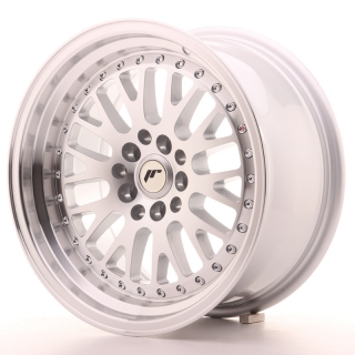 JR10 8x16 4x100/108 ET20 SILVER MACHINED