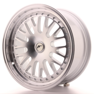 JR10 8x17 5x100 ET25-35 SILVER MACHINED