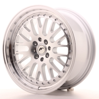 JR10 8x17 4x100/108 ET20 SILVER MACHINED
