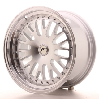 JR10 9x17 4x114,3 ET25-30 SILVER MACHINED