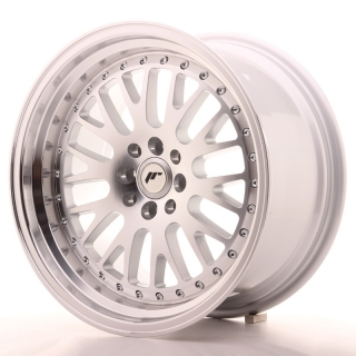 JR10 9x17 4x100/108 ET25 SILVER MACHINED