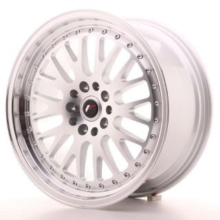 JR10 8,5x18 5x100/112 ET35 SILVER MACHINED