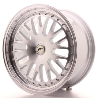 JR10 8,5x18 5x100 ET20-40 SILVER MACHINED