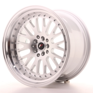 JR10 10,5x18 5x100/120 ET12 SILVER MACHINED