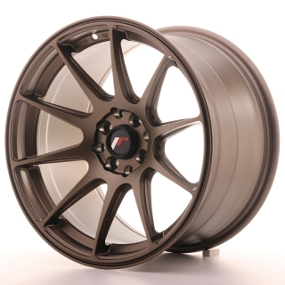 JR11 9,75x17 5x100/114,3 ET30 MATT BRONZE