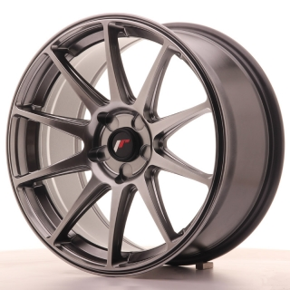 JR11 8,5x18 5H BLANK ET35-40 DARK HYPER BLACK