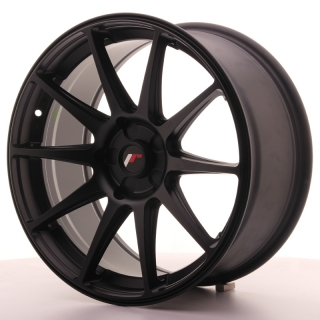 JR11 8,5x18 5H BLANK ET35-40 MATT BLACK