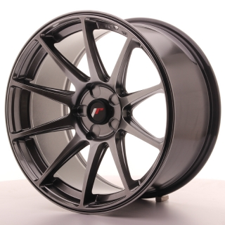 JR11 9,5x18 5H BLANK ET30 DARK HYPER BLACK